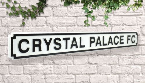 crystal palace fc street sign