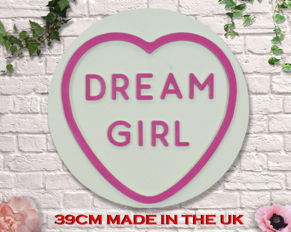 Giant Love heart Dream girl