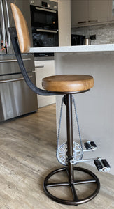 bicycle pedal stool