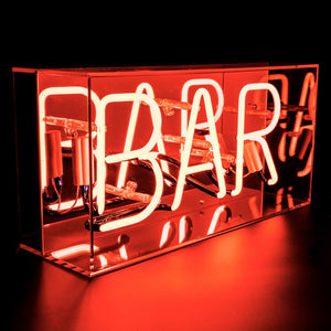 bar neon sign light box