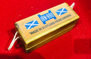 Iron bru Scotland girders wooden box