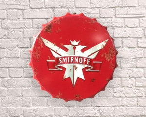 Smirnoff vodka giant Bottle top 40cm