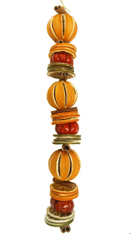 dried fruit orange garland christmas decoration jormaepourri scented