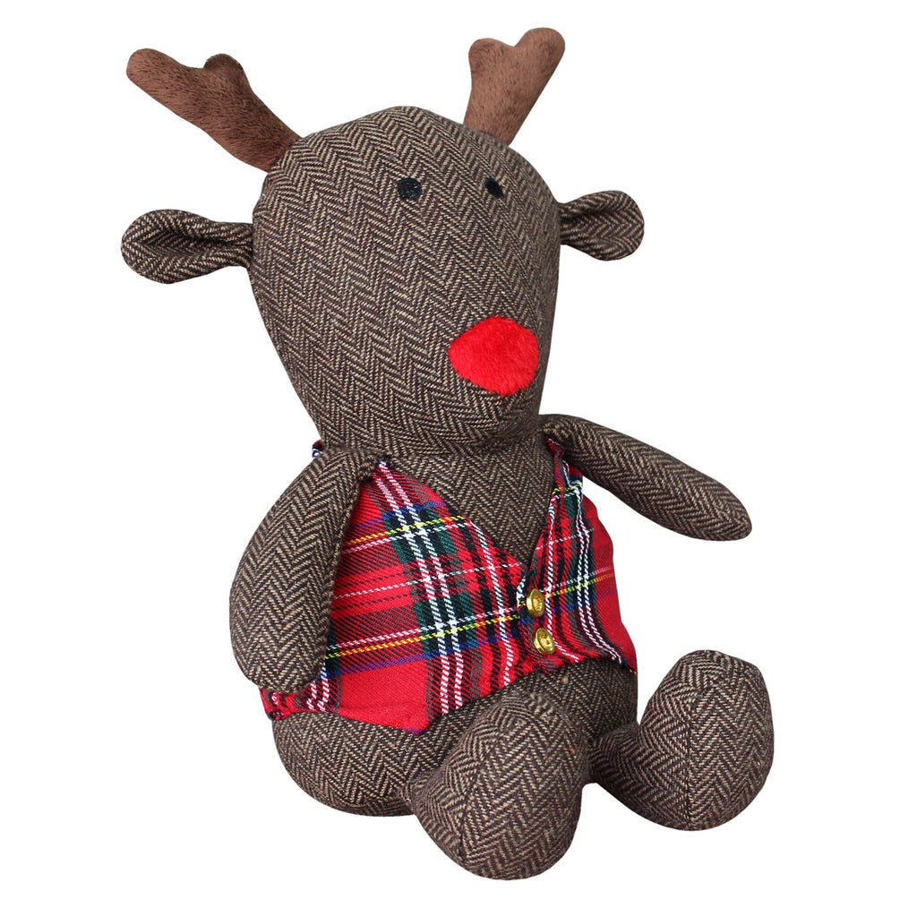 Ruldolph the reindeer doorstop