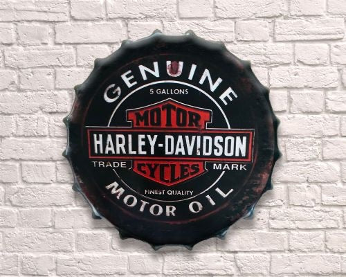 Harley Davidson large Bottle top 30cm