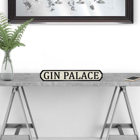 Gin Palace street road sign