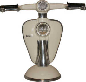 Lambretta scooter metal Table Lamp