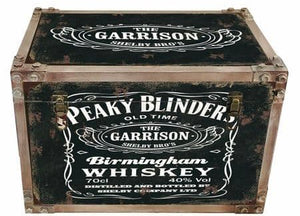Peaky Blinders strapped chest storage trunk