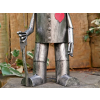 Terrence the Tin Man metal garden statue