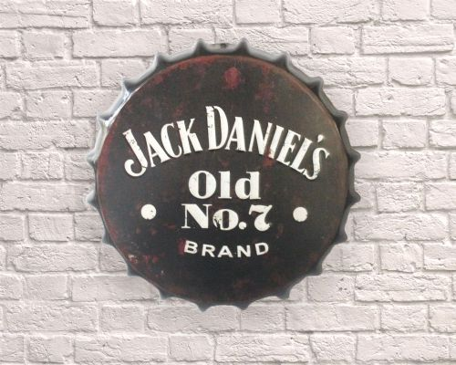 Jack Daniels JD large giant Bottle top cap 30cm