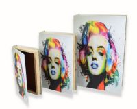 Marilyn Monroe Secret Book Boxes storage