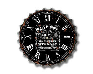 Peaky Blinders Bottle top cap Clock 30cm