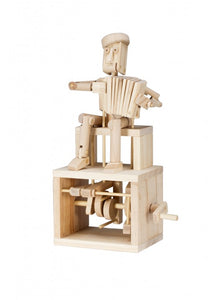 timberkits timber kits accordian player mechanical moving model