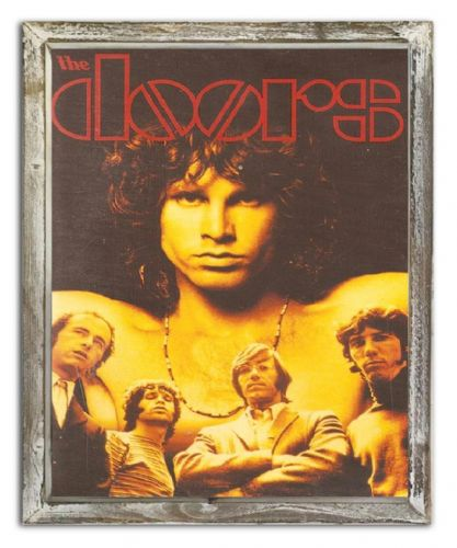 Framed The Doors Jim Morrison Iconic Poster Art