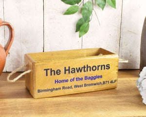 West Bromwich Albion The Hawthorns wooden box