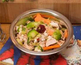Balanced Dinner Recipe – Turkey, Rice and Vegetables