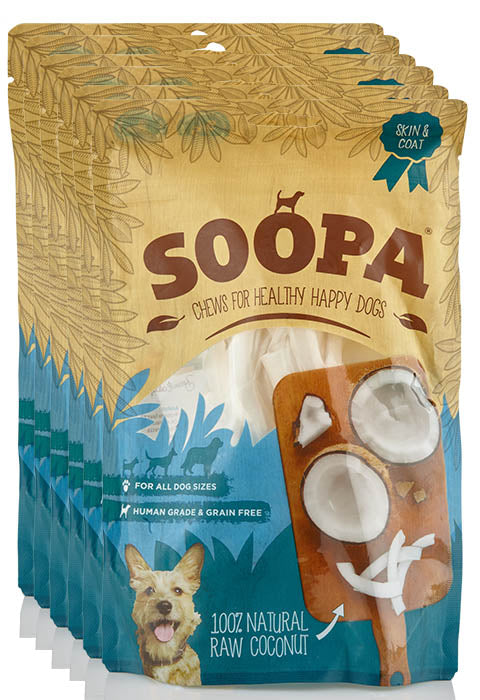 6pk Coconut Soopa Treats