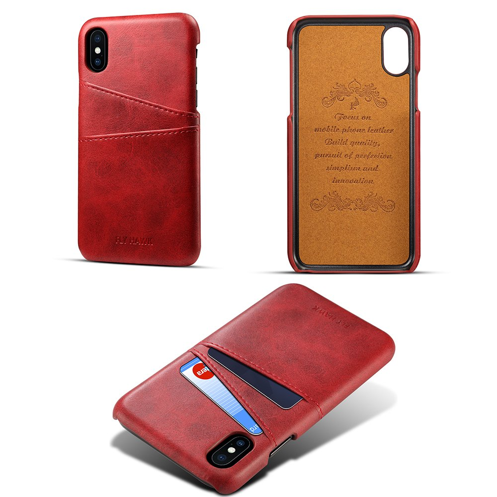 Card Holder Back Cover iPhone X