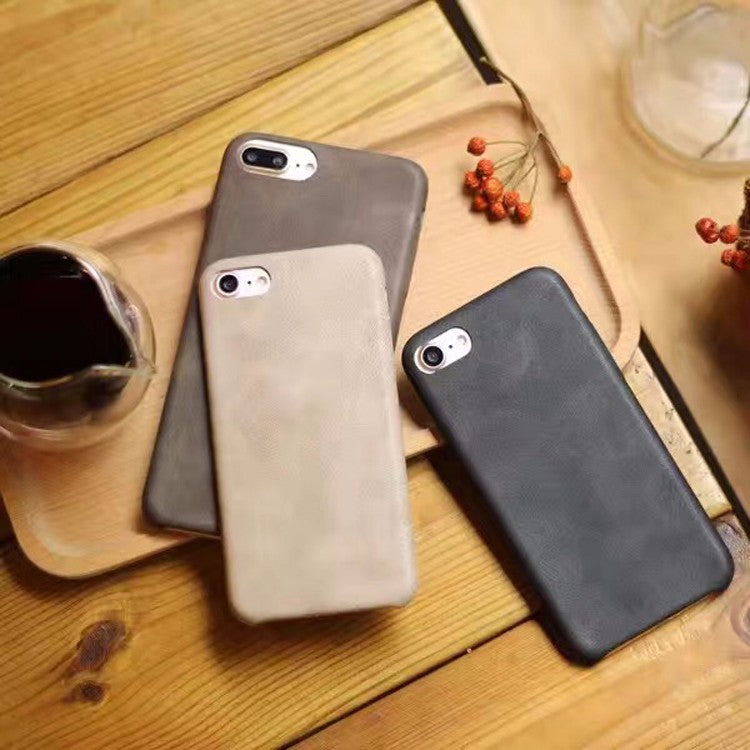 Soft Leather Back Cover For iPhone 6S