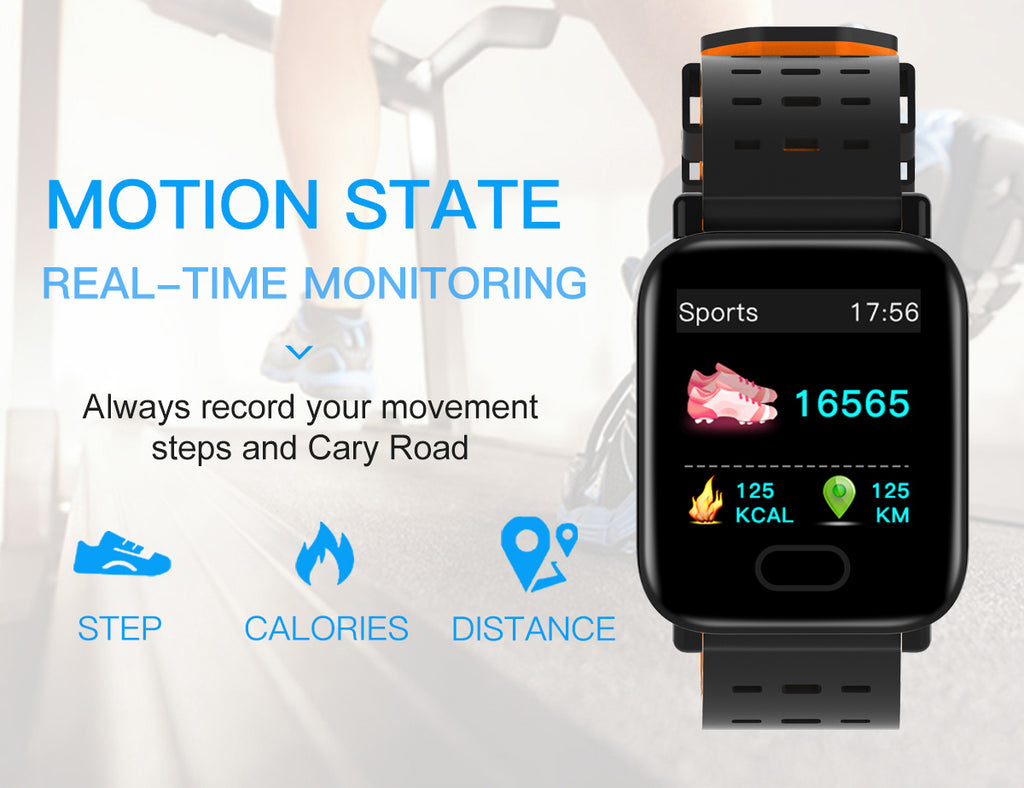 Kshop ComIT A6 Smart watch india