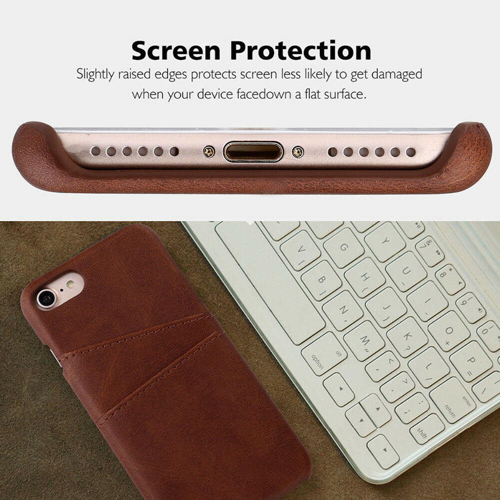 Wallet Back Cover for iPhone X