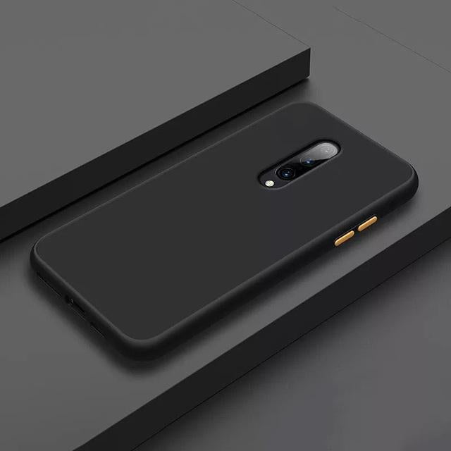 Smoke Matte Case For OnePlus 7 Pro - Black