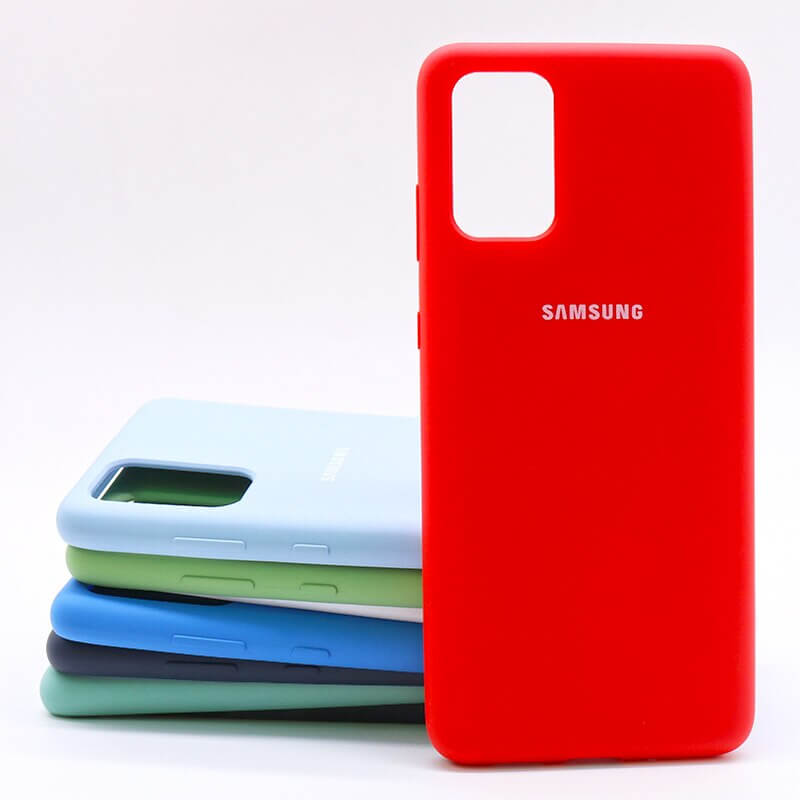 Samsung S20 Plus Silicone Case - Red