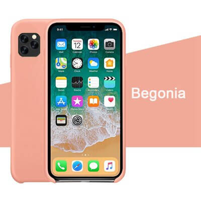 Begonia Silicon Case - iPhone 11 Pro - Mobilegadgets360