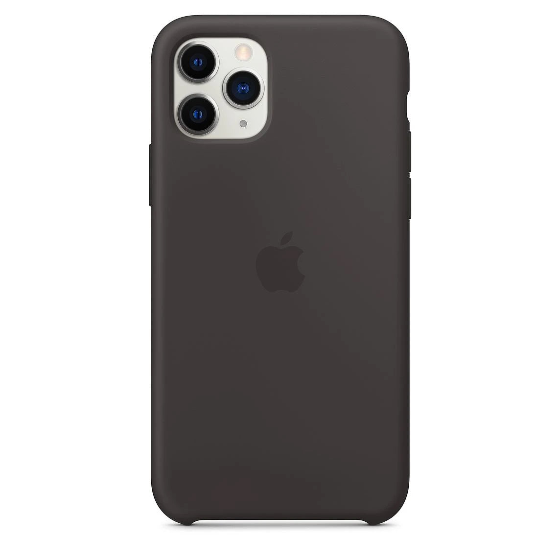 Silicon Case For iPhone 11 Pro - Black - Mobilegadgets360