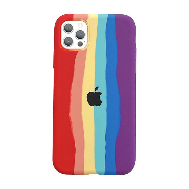 iPhone 12 & 12 Pro Rainbow - Multi Red