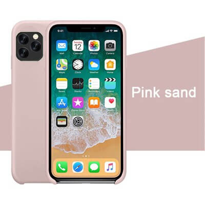 Pink Sand Silicon Case - iPhone 11 Pro - Mobilegadgets360