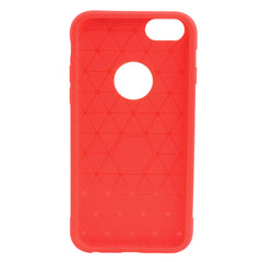 Rubber Sillicone Case iPhone 6 / 6S - Red - Mobilegadgets360