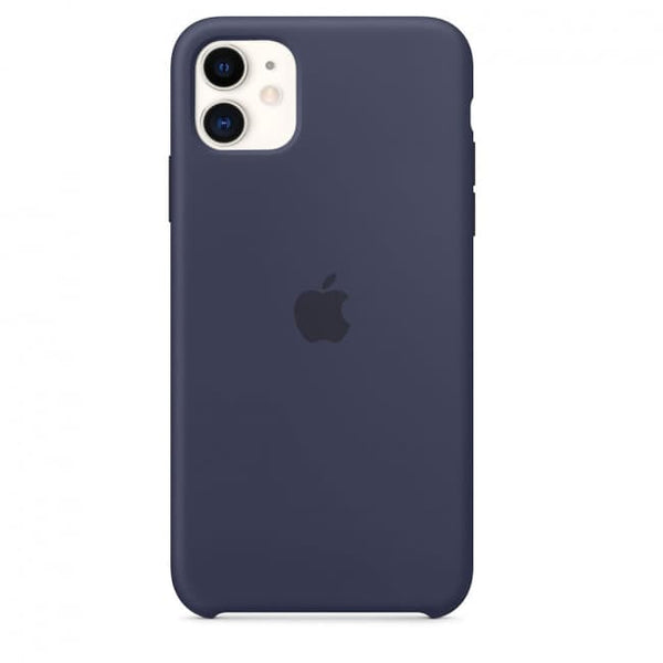 Silicon Case For iPhone 11 – Midnight Blue - Mobilegadgets360