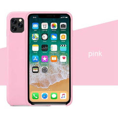 Pink Silicon Case - iPhone 11 Pro - Mobilegadgets360