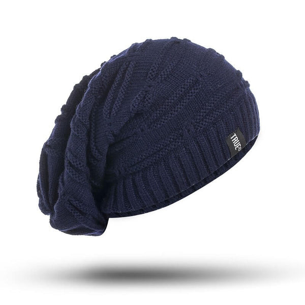 Black Rock Blue Knitted - Beanie Cap - Mobilegadgets360