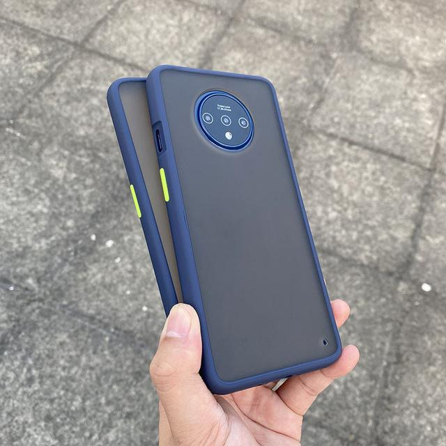 Smoke Matte Case For OnePlus 7T - Blue