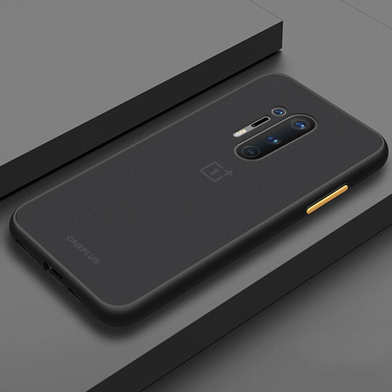 Smoke Matte Case For OnePlus 8 Pro - Black