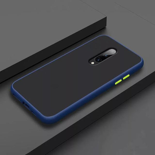 Smoke Matte Case For OnePlus 8 - Blue