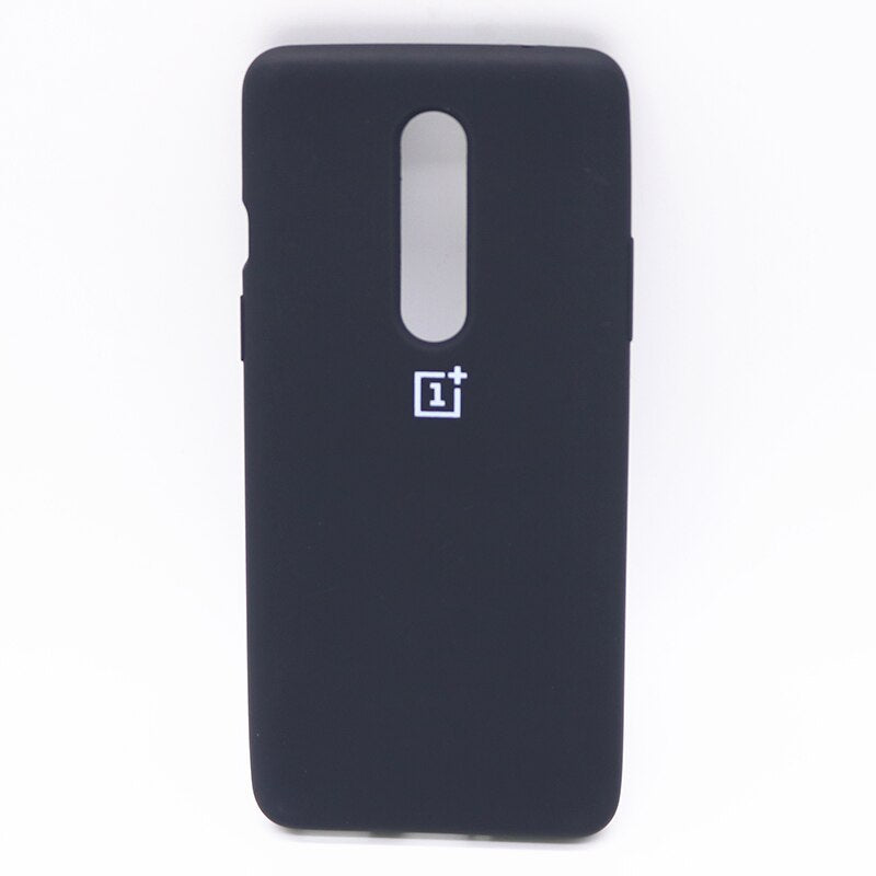 Black Silicone Case For OnePlus 8