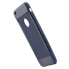 Rubber Sillicone Case iPhone - Blue - Mobilegadgets360
