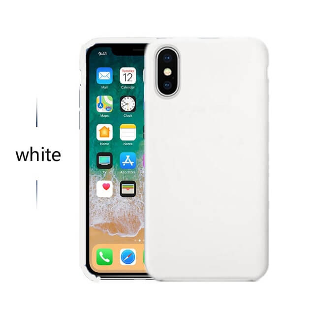 White Silicon Case - iPhone 11 - Mobilegadgets360