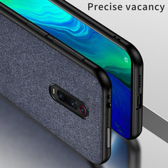 Blue Fabric Cover - Redmi K20 Pro - Mobilegadgets360