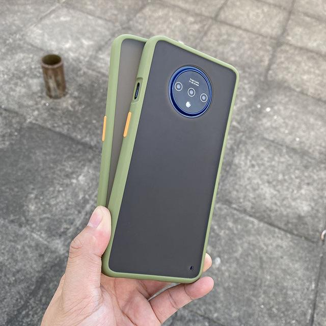Smoke Matte Case For OnePlus 7T - Light Green