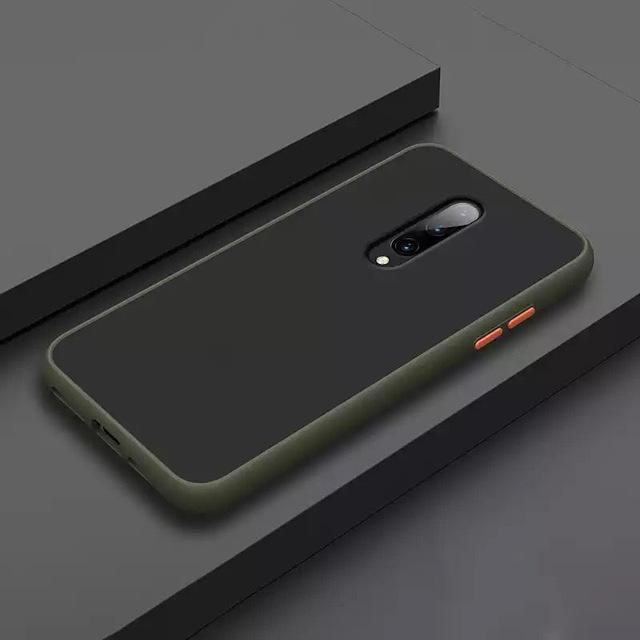 Smoke Matte Case For OnePlus 7 Pro - Light Green