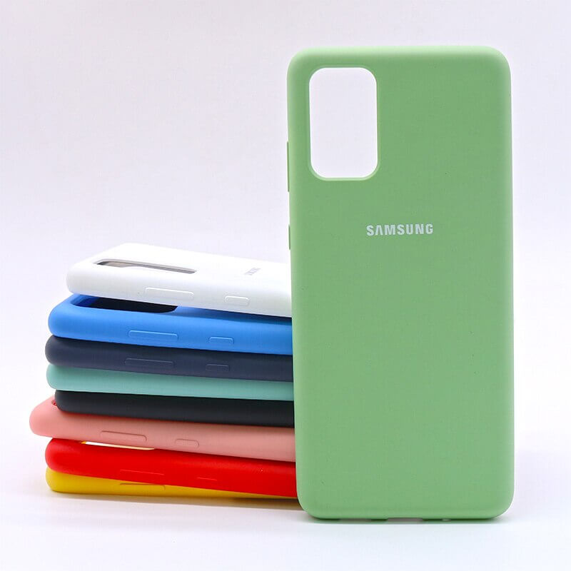 Samsung S20 Plus Silicone Case - Mint