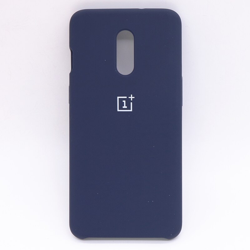 Blue Silicone Case For OnePlus - 7