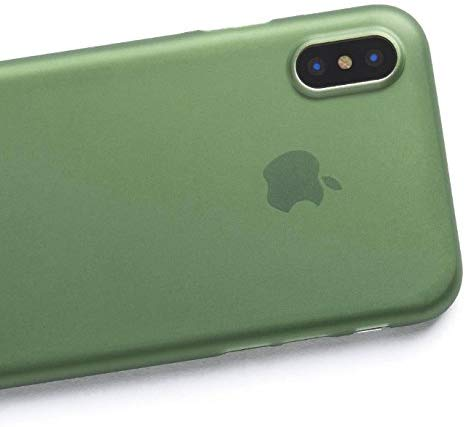 Forest Green Liquid Silicon Case - iPhone X - Mobilegadgets360