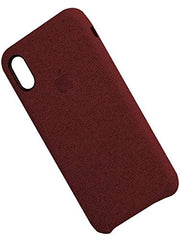 Fabric Cover For iPhone X / XS - Red