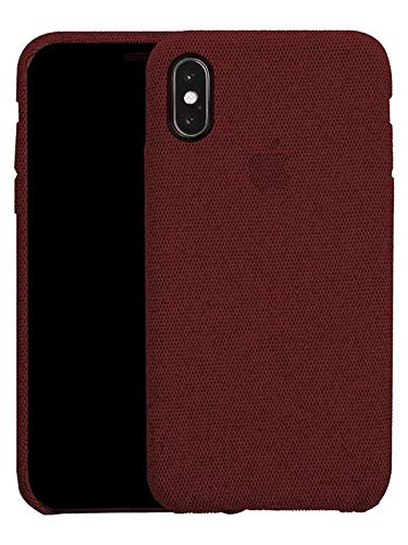 Red Fabric Case - iPhone XS MAX