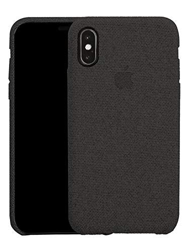 Fabric Cover For iPhone X / XS - Black
